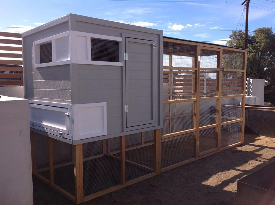 modern garden custom chicken coop for sale san diego los