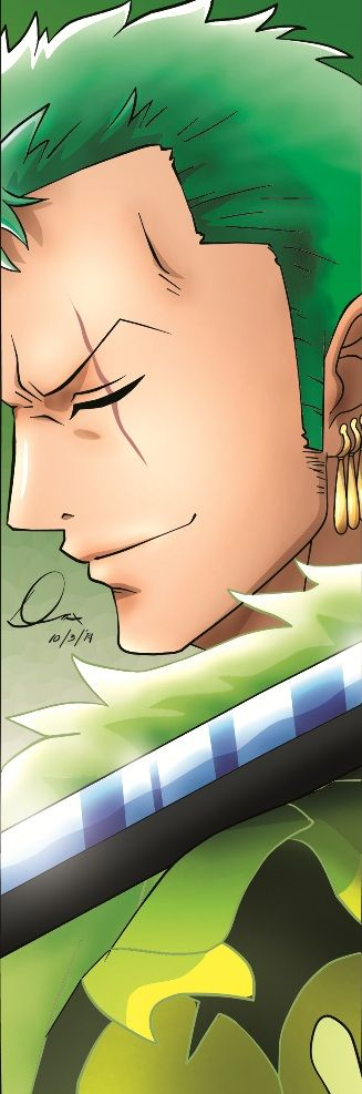 Roronoa Zoro (Swordsman) by yifeicryst on DeviantArt