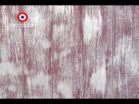 T cnica para pintar madera decapada manualidades - Pinturas para pintar madera ...