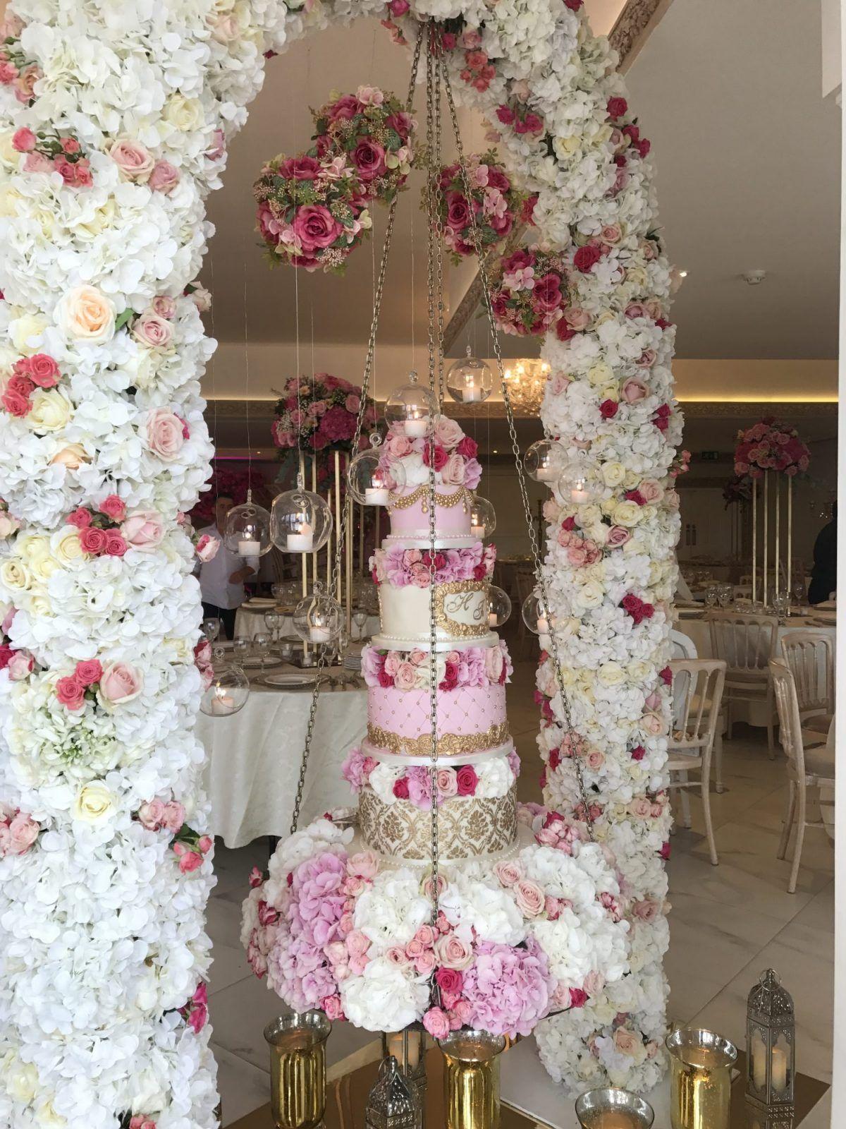 Hanging cake 2 in 2020 hanging cake suspended wedding