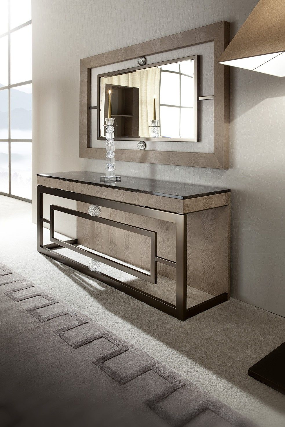 Giorgio Lifetime Console Table Modern Italian Contemporary Furniture Design Modern Console Tables Interior Furniture Design