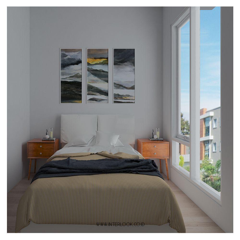 Memiliki kamar yang tidak luas bukan berarti kalian terbatas bereksplorasi, kalian tetap dapat memanfaatkan dinding untuk menambah d… | Dinding, Dekorasi, Indonesia