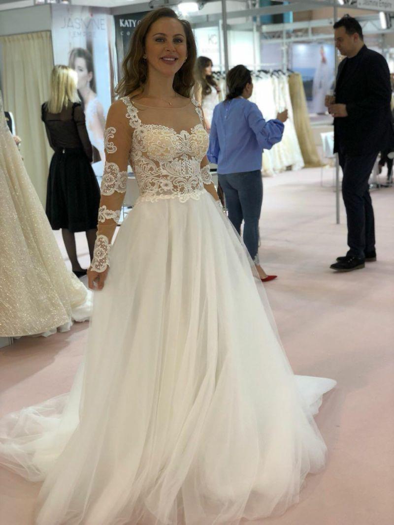 5c4671eed035 Svadobné šaty Ariadne - Annette Moretti