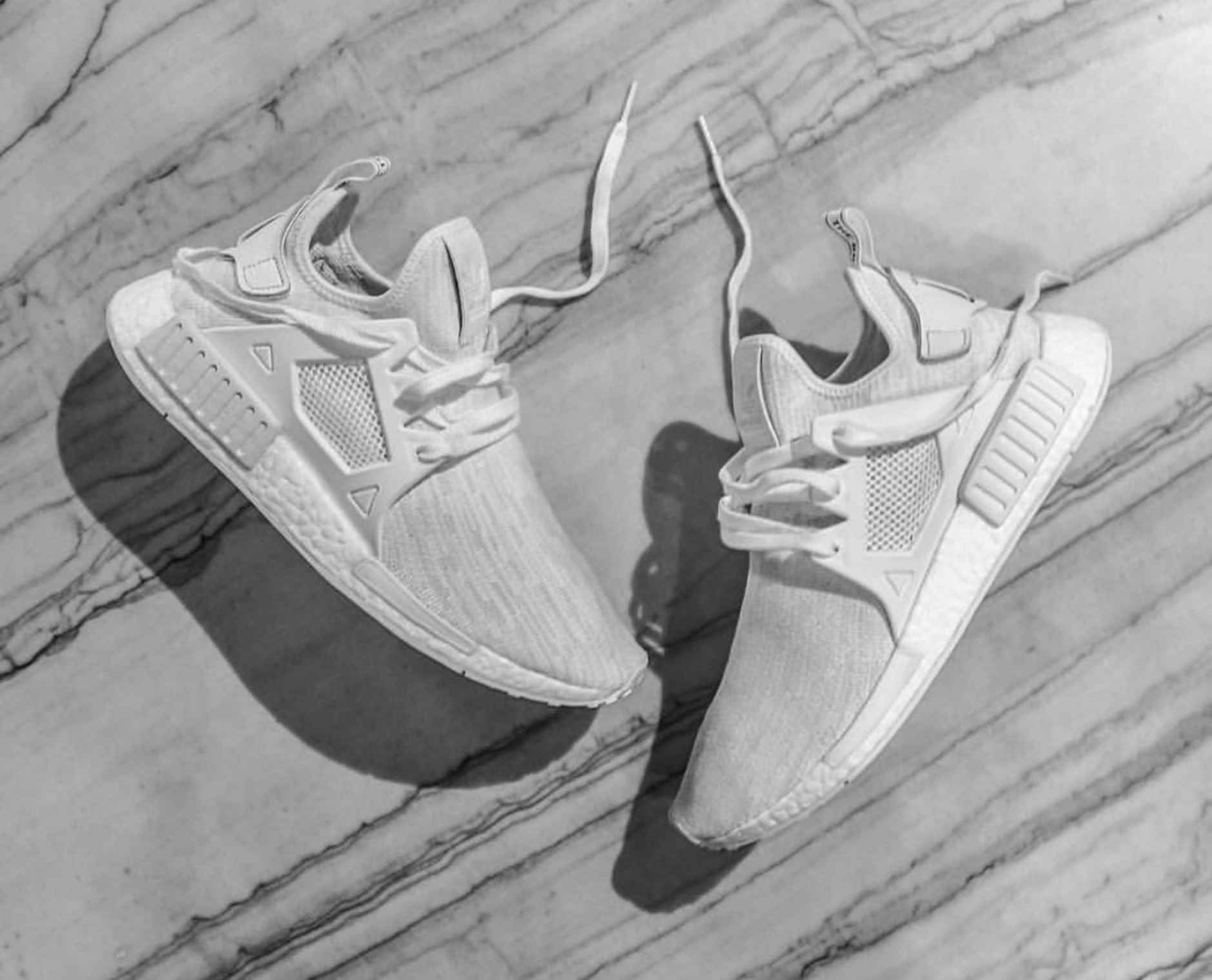 bfedbc75a9d79 The adidas NMD Gets Caged With This All White XR1 - Freshness Mag