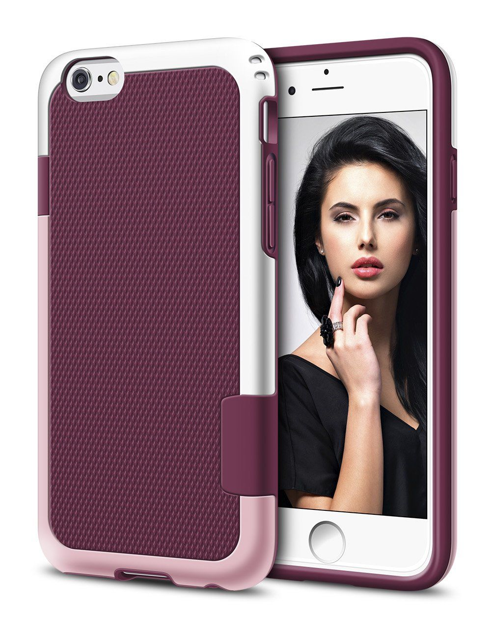 Iphone 6 Plus Case Lohi Shockproof Rugged Case Soft Tpu Hard Pc Bumper For Iphone 6 6s Plus Iphone Iphone Cases Iphone 6 Plus Case