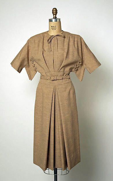 1940s Gilbert Adrian | Dress | American | The Metropolitan Museum of ...