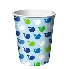 Ocean Preppy Boy 9 oz Cups - Ocean Preppy Boy - Baby Boy Themes - Baby Shower - Special Occasion