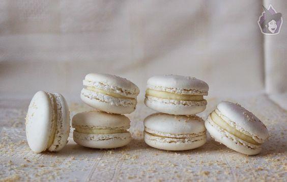 Macarons de coco