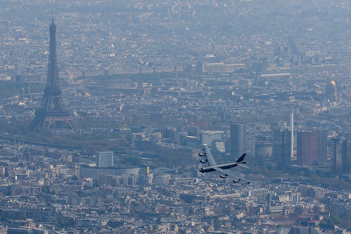 Buff over Paris