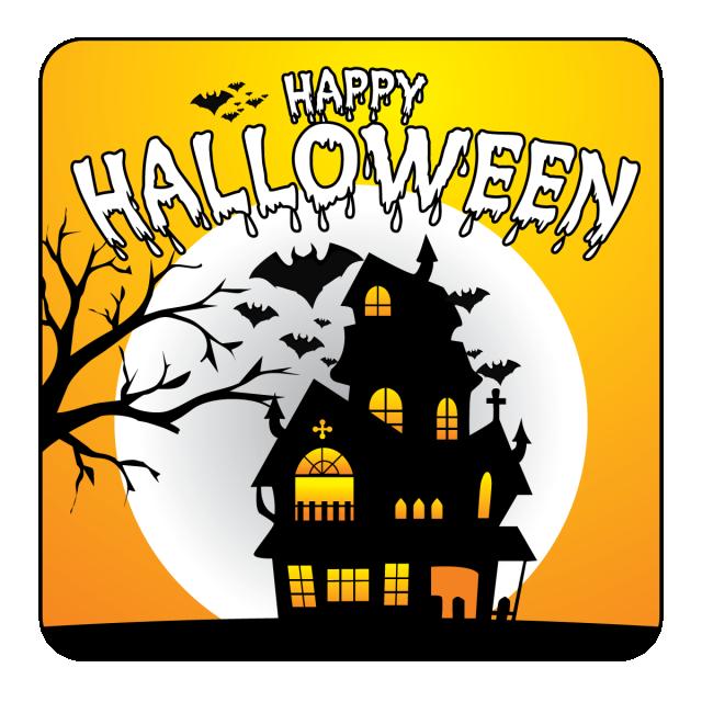 Halloween Party Vector Background Illustration Moon Night Holiday Pumpkin Horror Scary Invitation Ce Halloween Poster Halloween Free Graphic Design