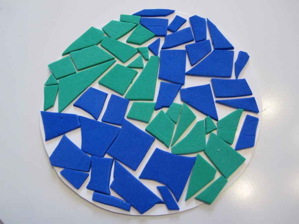 Earth Day Mosaic | Earth day crafts, Crafts, Earth day ...