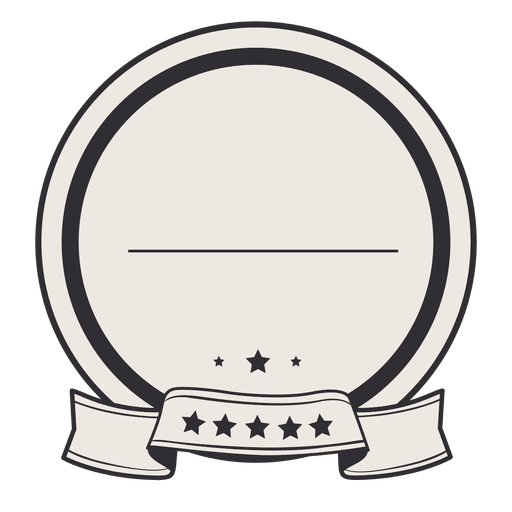 Vintage Circle Label Badge Ribbon Ad Affiliate Sponsored Circle Ribbon Badge Vintage In 2020 Circle Labels Material Design Background Clip Art