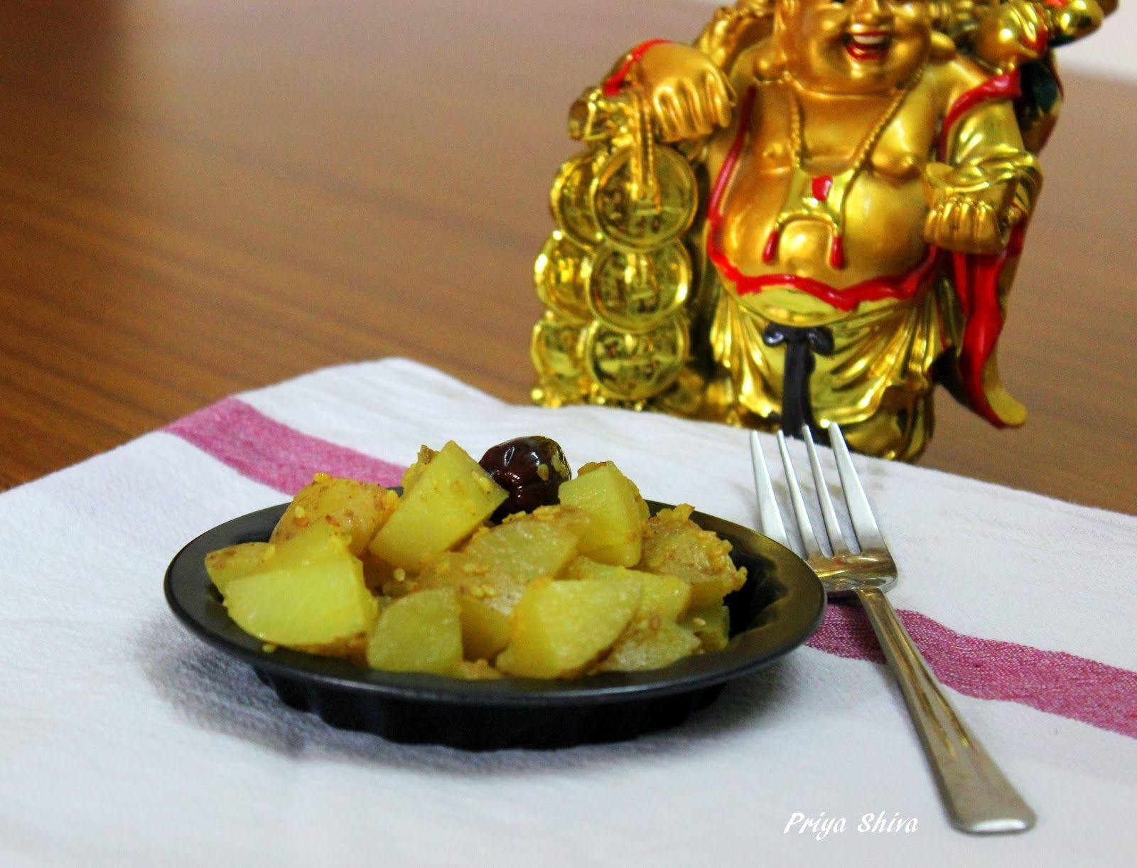 The aromas of my kitchenette : Monk Potatoes