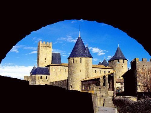 Chateau Comtal,Carcassonne France