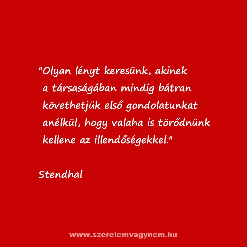 szerelmes idézetek gondolatok Stendhal legszebb szerelmes idézet | Idézet, Szerelmes idézetek