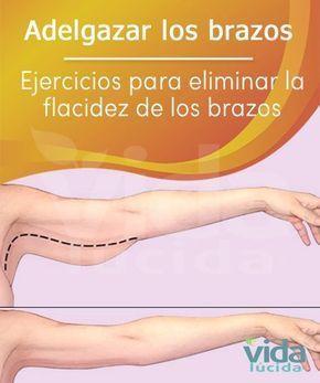 Ejercicio para vencer la flacidez de los brazos y tonificar tríceps y hombros
