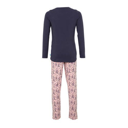 a921d235e6139 Charlie Choe pyjama met print donkerblauw/roze | Products