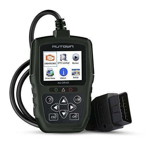 EOBD OBD2 OBDII Car Scanner Diagnostic Live Data Code Reader Check Engine Scan