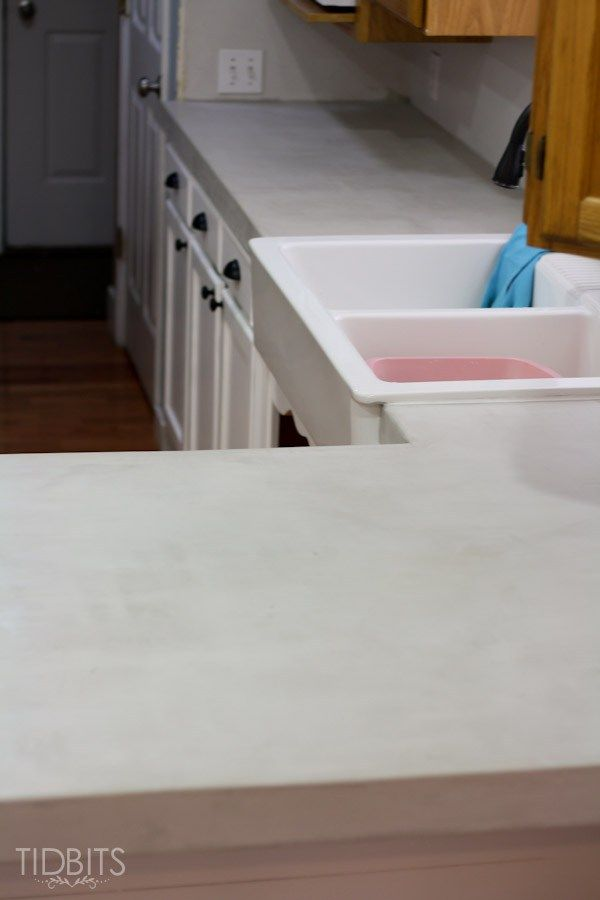 Details And Instructions For Installing DIY Feather Finish Concrete  Countertops, And The Possible Complications You