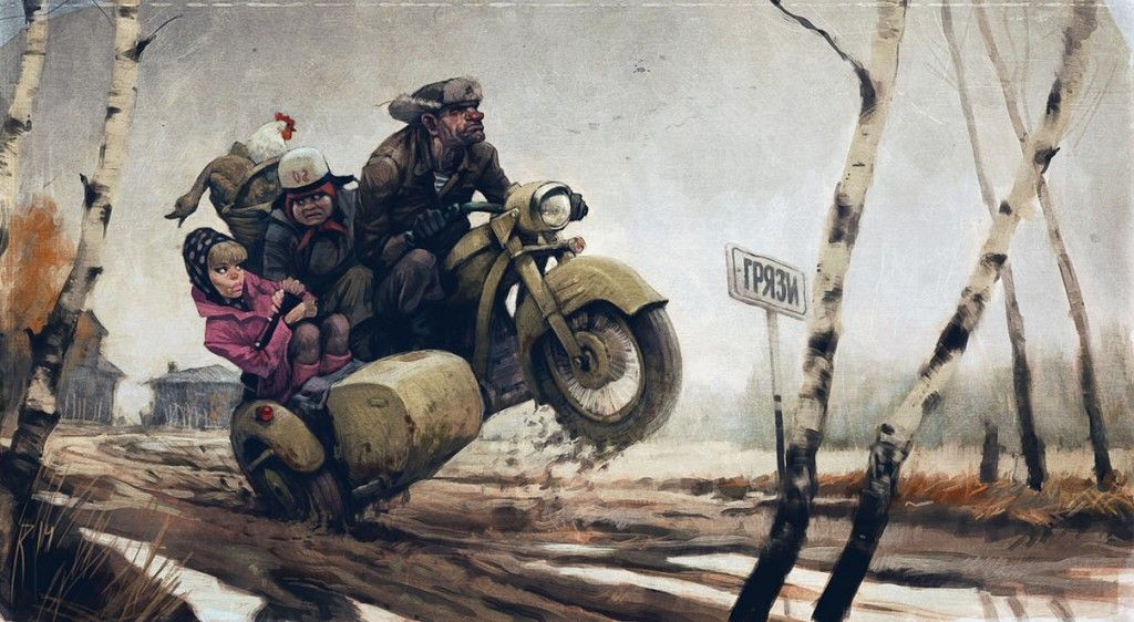 The Art of Waldemar von Kozak - Daily Art