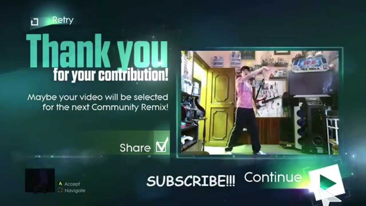 Maroon 5 - Maps JUST DANCE 2015 Community Remix with ghosts