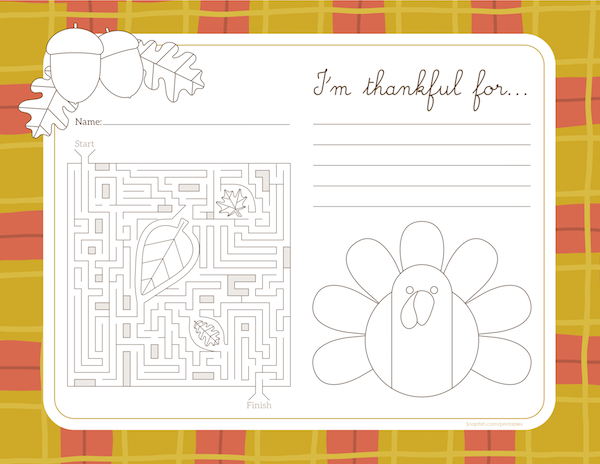 Tons Of FREE Thanksgiving Printables Coloring Pages Activity