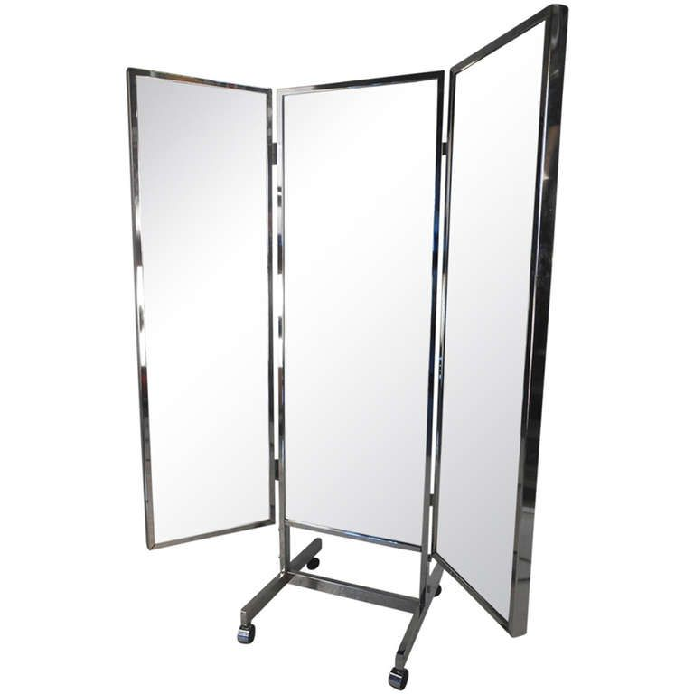 Three Panel Dressing Mirror | Dressing mirror, Modern floor mirrors ...