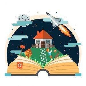 La Importancia De Leer Cuentos Dónde Están Los Libros último Capítulo Libro De Historia Para Niños Libros De Cuentos Murales Escolares