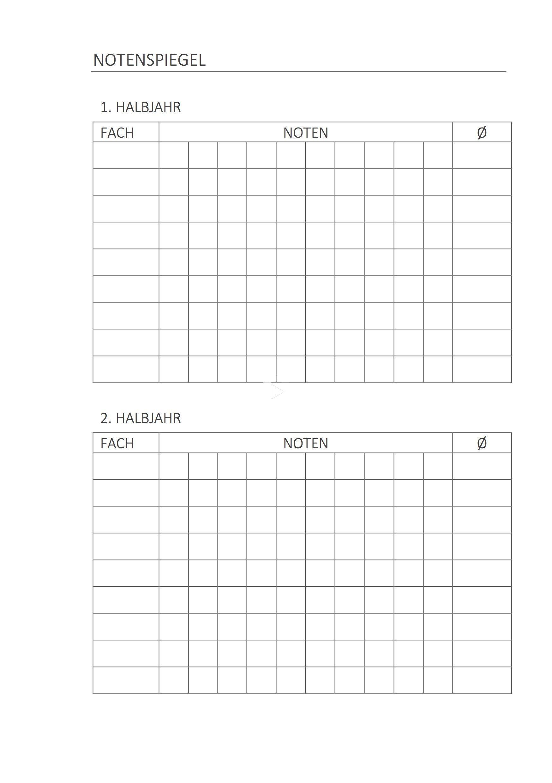 Theorganisedstudent Study Planner Printable 4