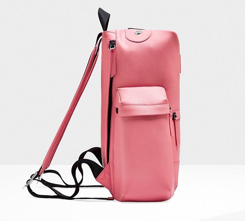Hunter Original Top Clip Mini Rubber Backpack Bright Pink