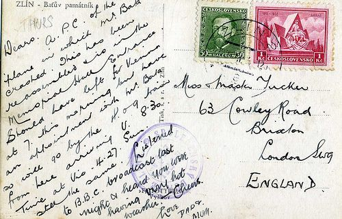 The Postcrossing - How to Write a Postcard Snail mail - how to write a