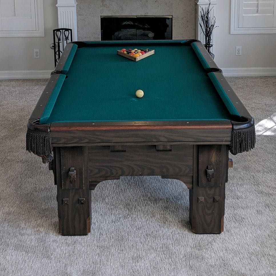 Finished installing this 8 foot one piece slate delta pool table in finished installing this 8 foot one piece slate delta pool table in san clemente california billiards dkbilliards playpool mancave gameroom keyboard keysfo Image collections