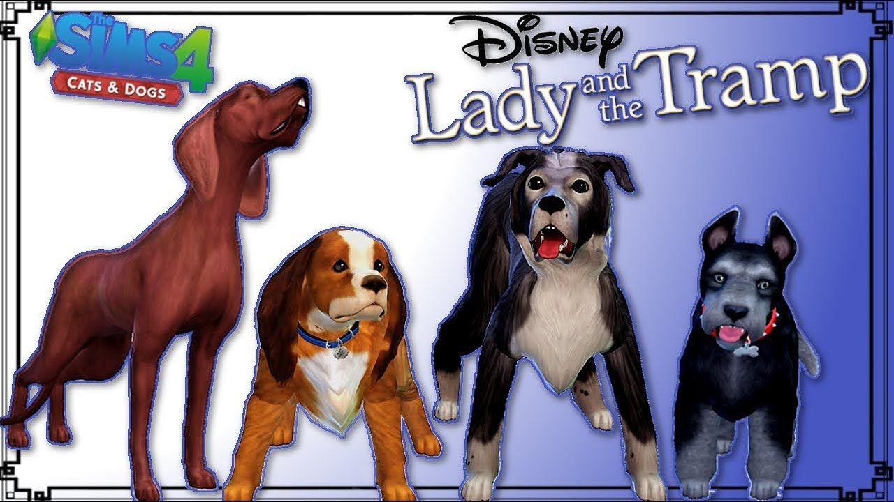 The Sims 4 Cats And Dogs Early Access Lady And The Tramp Create A