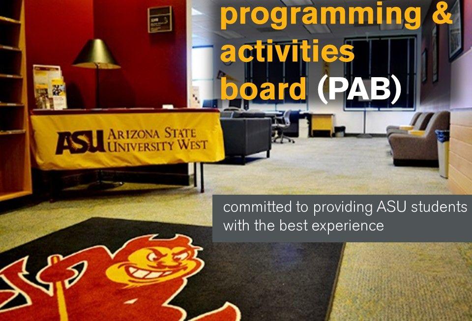 pabasuwest1 Activity board, Asu