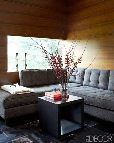 How To Design The Perfect Lounge Space With A Sectional Sofa Elle Decor Room And Living Rooms