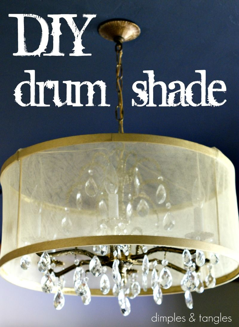 I want to cover my ugly chandelier with a drum shade hmm i may be i want to cover my ugly chandelier with a drum shade hmm i may be able to use this tutorial aloadofball Image collections