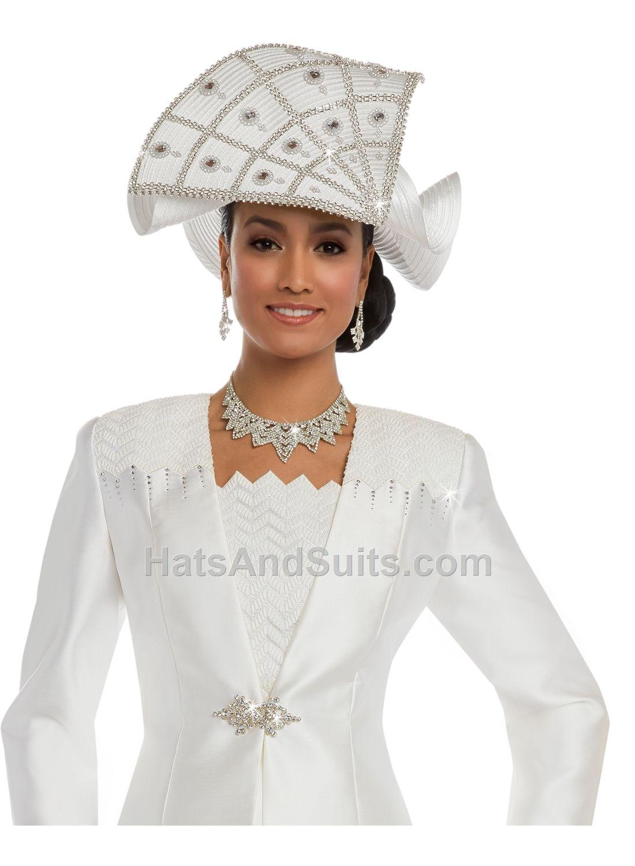 84a172a9ac59a Donna Vinci Couture Church HATS H11630 Spring   Summer 2018