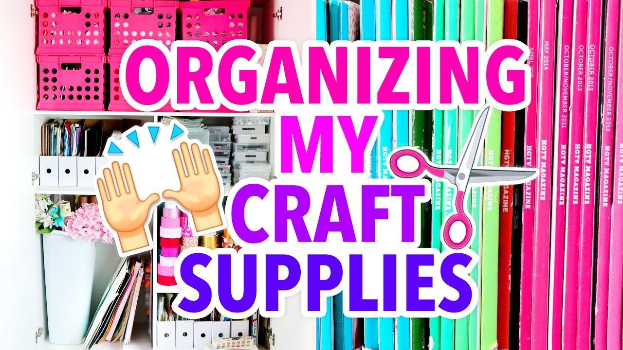 How I Reorganized my Craft Supplies + Updated Apartment Tour   @karenkavett