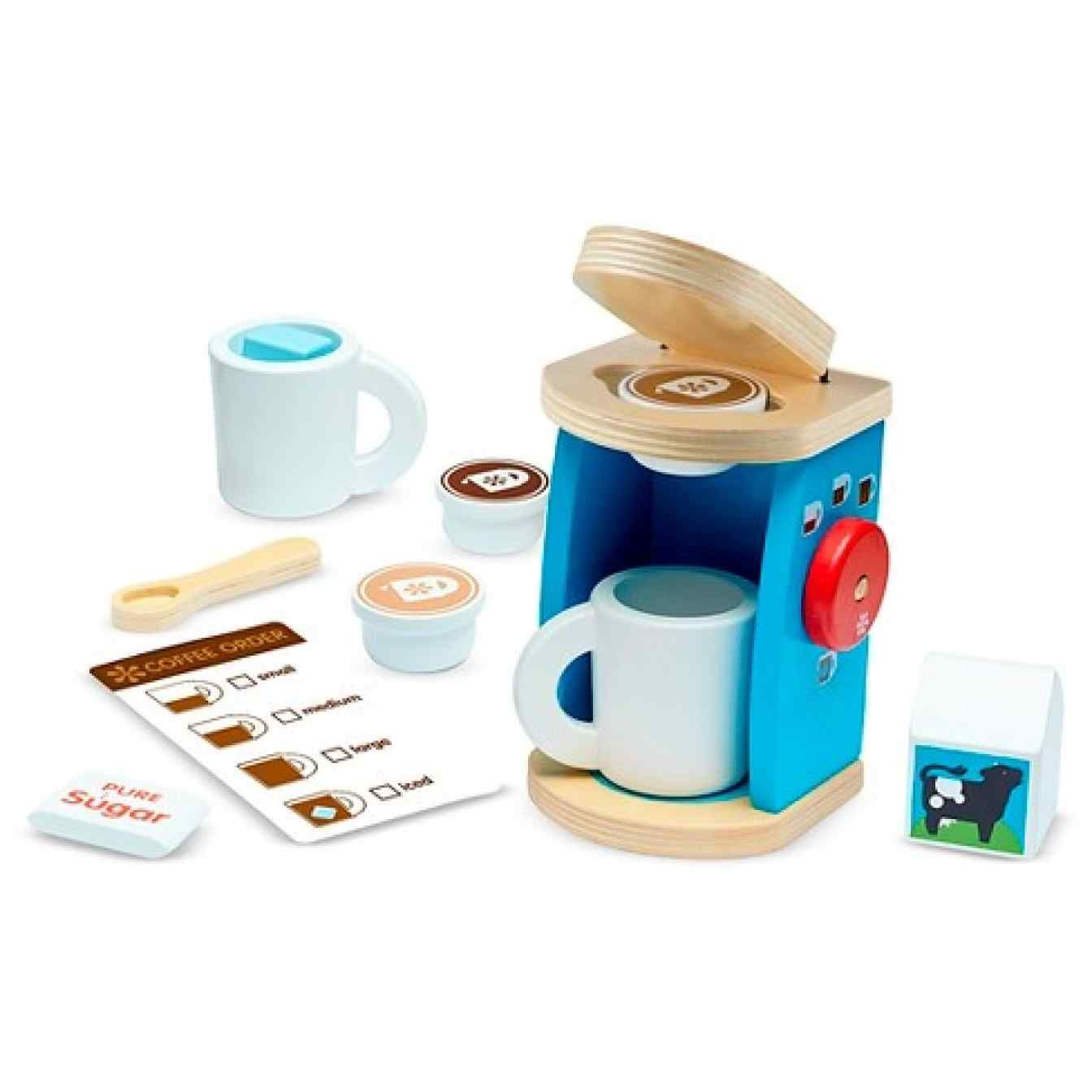 11 Simple Beautiful Wooden Toys You Can Buy At Target Play Kitchen Accessories Coffee Set Opening A Coffee Shop