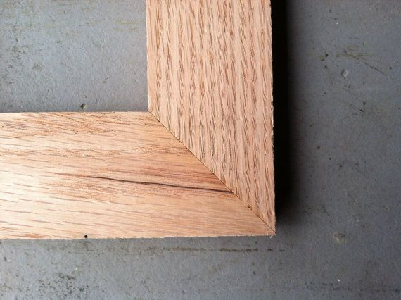 4x6 Oak Wood Picture Frame | Wood frames, Wood pictures and Woods