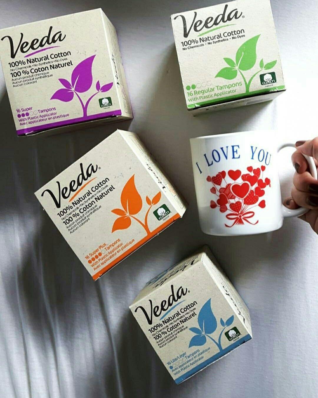 Hypoallergenic, biodegradable, non-GMO and chem-free Veeda