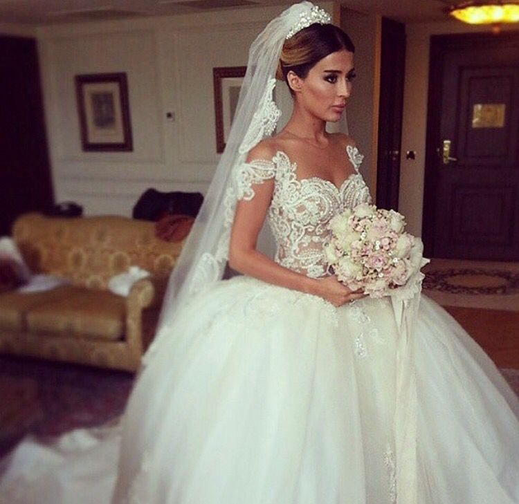 Cheap Bridal Gown Buy Quality Fashion Gowns Directly From China Wedding Dress 2016 Suppliers New Arrival Ball Sexy Cap Sleeve Sweetheart
