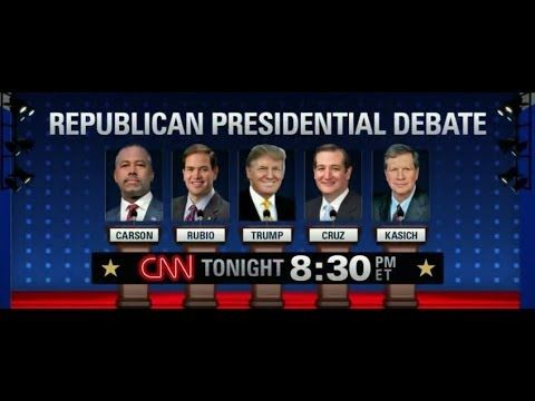 Live: CNN Republican Presidential Debate Feb 25, 2016 | GOP Debate - Tru...