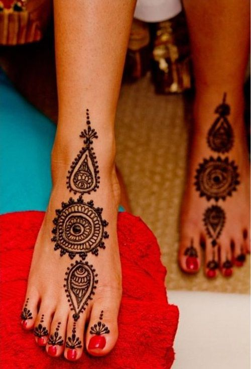 Simple Mehndi Designs For Feet Mehndi Designs Henna Designs