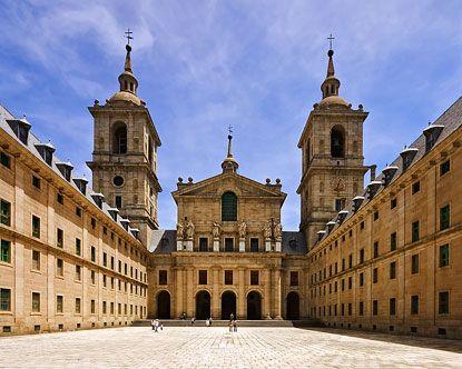 madrid spain   ... Escorial - San Lorenzo de el Escorial - History of El Escorial Madrid