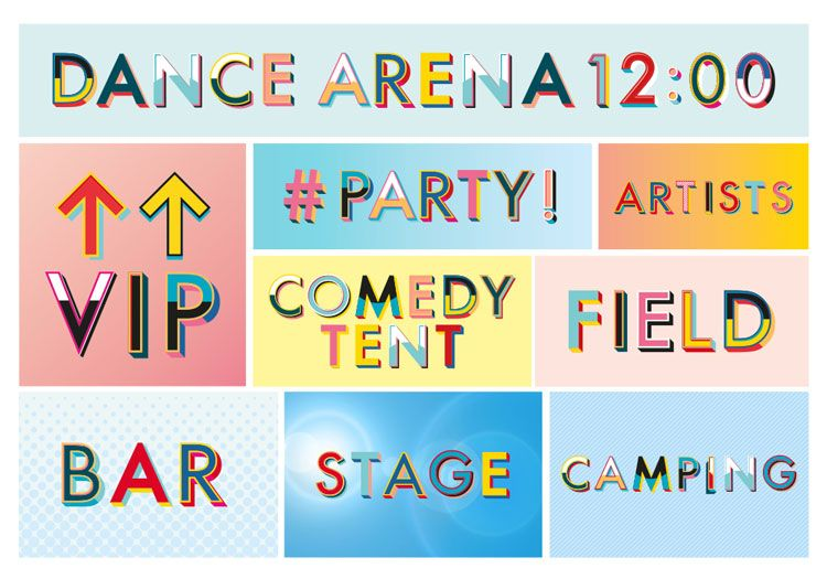 The Music Festival Has Been Given A New Visual Identity By Form