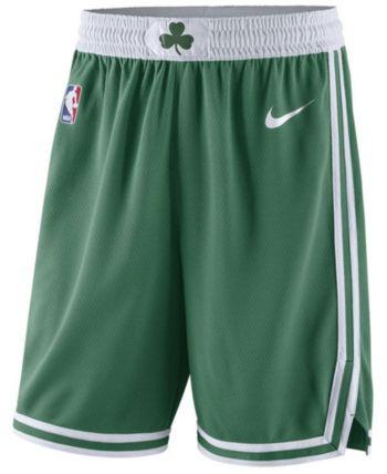 7a373623421 Nike Men s Boston Celtics Icon Swingman Shorts - Green White M in ...