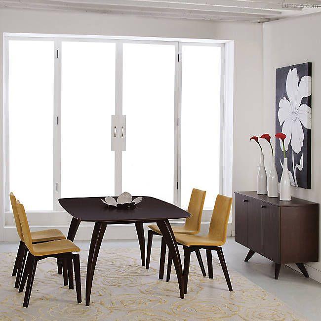 Kira Dining Table Saloom Furniture Modern Dining Room Maple