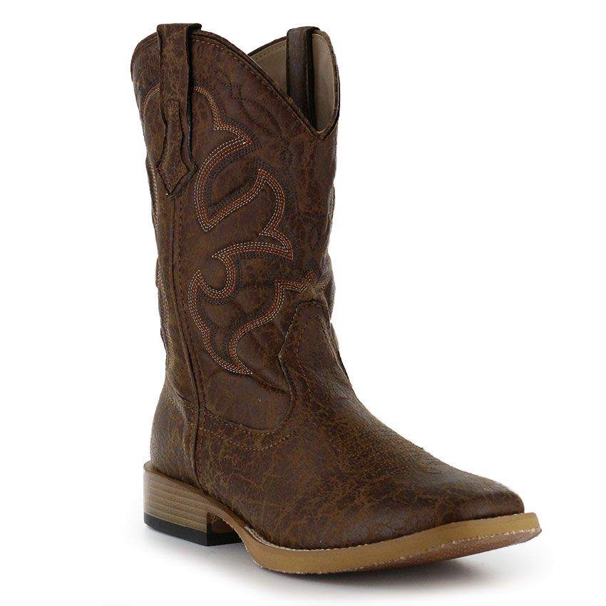 392ccd02273 Roper Men's Distressed Broad Square Toe Western Boots | boots