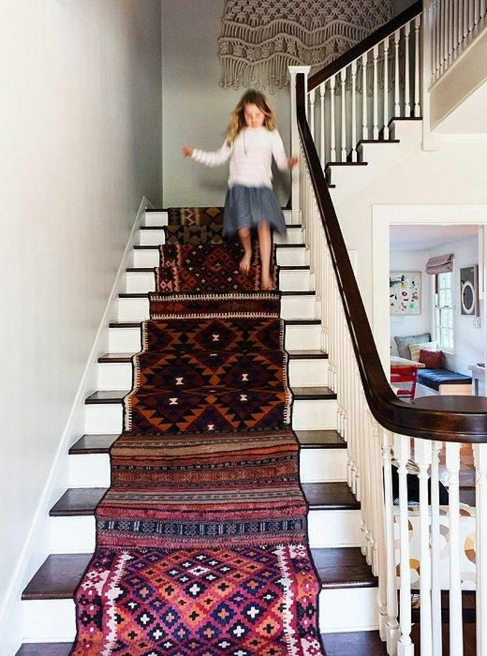 Le Tapis Pour Escalier En  Photos Inspirantes